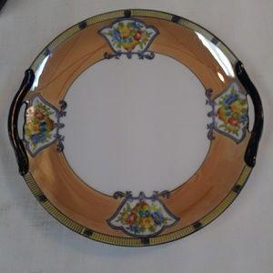 Vintage Noritake Oriental Pattern Plate